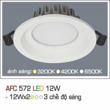 Đèn downlight led 3 chế độ AFC 572 12W 3C