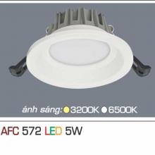 Đèn downlight led 1 chế độ AFC 572 5W