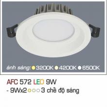 Đèn downlight led 3 chế độ AFC 572 9W 3C