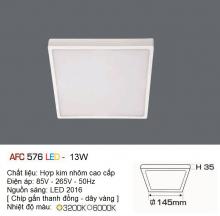 Đèn led nổi cao cấp 1 chế độ AFC 576 13W