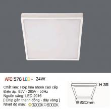 Đèn led nổi cao cấp 1 chế độ AFC 576 24W