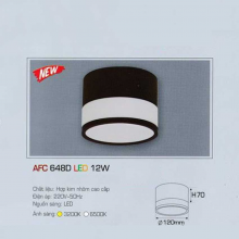 Đèn lon nối led AFC 648D 12W 1C