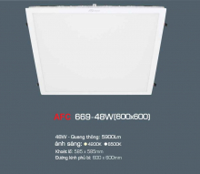 Đèn Panel led  AFC 669 LED 48W