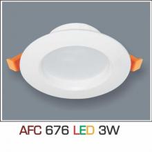 Đèn downlight led 1 chế độ AFC 676 3W