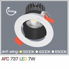 Đèn downlight led 1 chế độ AFC 737 7W