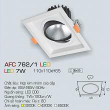 Đèn downlight led 1 chế độ AFC 762/1 7W