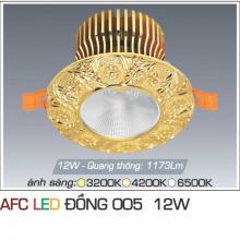 Đèn led chiếu sáng cao cấp AFC ĐỒNG 005 12W