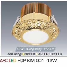 Đèn led chiếu sáng cao cấp AFC HỢP KIM 001 12W