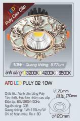 Đèn led chiếu sáng cao cấp AFC PULY 02 10W