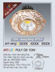 Đèn led chiếu sáng cao cấp AFC PULY 03 10W