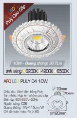 Đèn led chiếu sáng cao cấp AFC PULY 04 10W