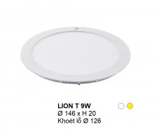 Đèn downlight led LION Đèn âm trần tròn 9w