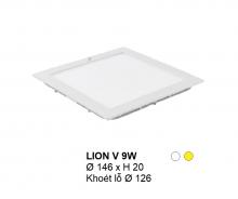 Đèn downlight led LION Đèn âm trần vuông 9w