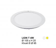 Đèn downlight led LION Đèn âm trần tròn 4w
