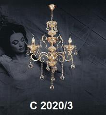 Đèn chùm pha lê nến C 2020/3