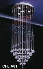 Đèn thả dây pha lê CFL A81