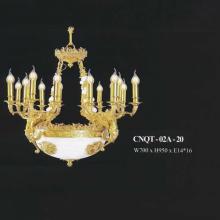 Đèn chùm đồng CNQT 02A-20B