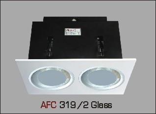 Đèn lon âm trần kiếng AFC 319/2 glass