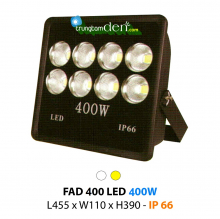 Đèn pha led  FAD 400W