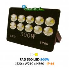 Đèn pha led  FAD 500W