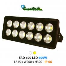 Đèn pha led  FAD 600W
