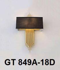 Đèn tường nghệ thuật GT 849A-18 Đen