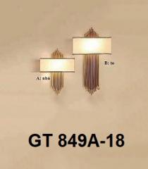 Đèn tường nghệ thuật GT 849A-18 trắng