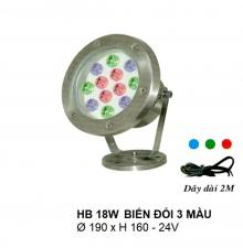 Đèn pha hồ nước HB 18W DM