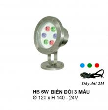 Đèn pha hồ nước HB 6W DM