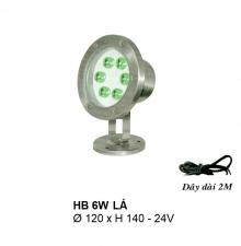 Đèn pha hồ nước HB 6W L