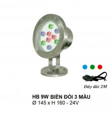 Đèn pha hồ nước HB 9W DM