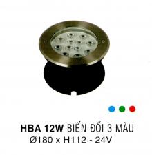 Đèn âm hồ nước HBA 12W DM