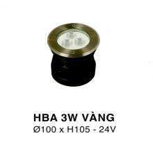 Đèn âm hồ nước HBA 3W V