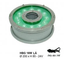 Đèn pha hồ nước HBG 18W L