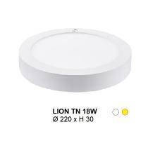 Đèn mâm áp trần LION MÂM NỔI TRÒN 18W