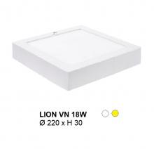 Đèn mâm áp trần LION MÂM NỔI VUÔNG 18W