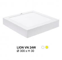Đèn mâm áp trần LION MÂM NỔI VUÔNG 24W