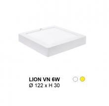 Đèn mâm áp trần LION MÂM NỔI VUÔNG 6W