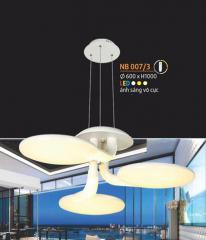Đèn thả nghệ thuật LED NB 007/3
