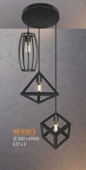 Đèn thả nghệ thuật NB 018/3