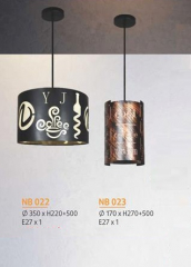 Đèn thả quán cafe NB 022