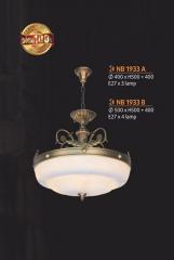 Đèn chùm đồng NB 1933A