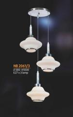 Đèn thả pha lê NB 2061/3