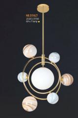 Đèn thả nghệ thuật NB 3114/7