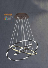 Đèn thả nghệ thuật LED NB 314/3