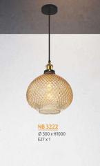 Đèn thả nghệ thuật NB 3222