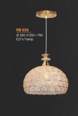 Đèn thả pha lê NB 656