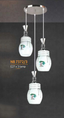 Đèn thả pha lê NB 7372/3