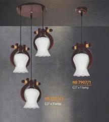 Đèn thả gỗ NB 7907/3