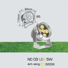 Đèn rọi cỏ sân vườn NC 03 5W